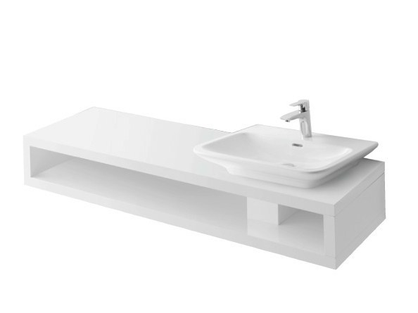 MH   Mobile lavabo in legno