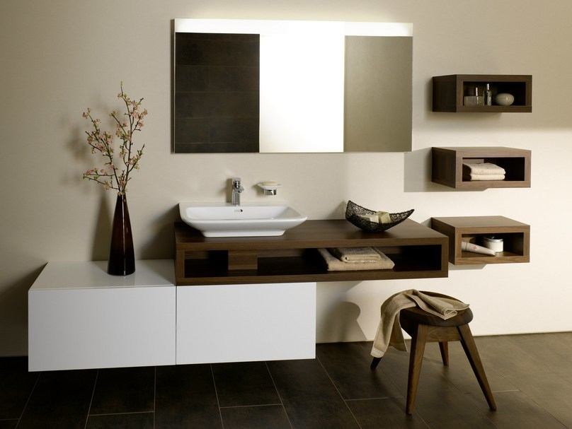 Single wall-mounted vanity unit MH | Wall-mounted vanity unit by TOTO