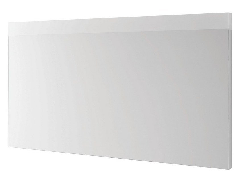 Wall-mounted bathroom mirror with integrated lighting MH | Mirror with integrated lighting by TOTO