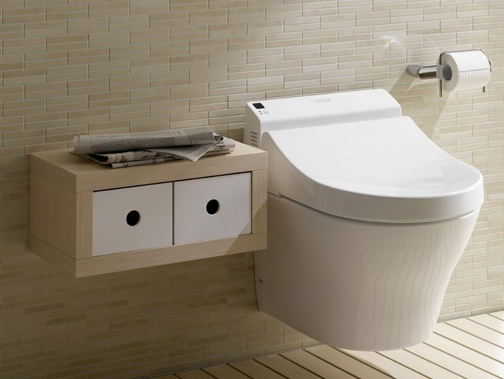 MH | Wall-hung toilet By TOTO