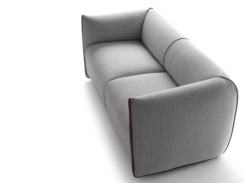 2 seater fabric sofa with removable cover MIA | Sofa by MDF Italia