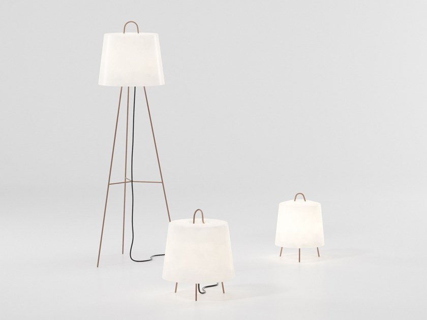 Mia Floor Lamp With Rechargeable Battery By Kettal Design Michel Charlot