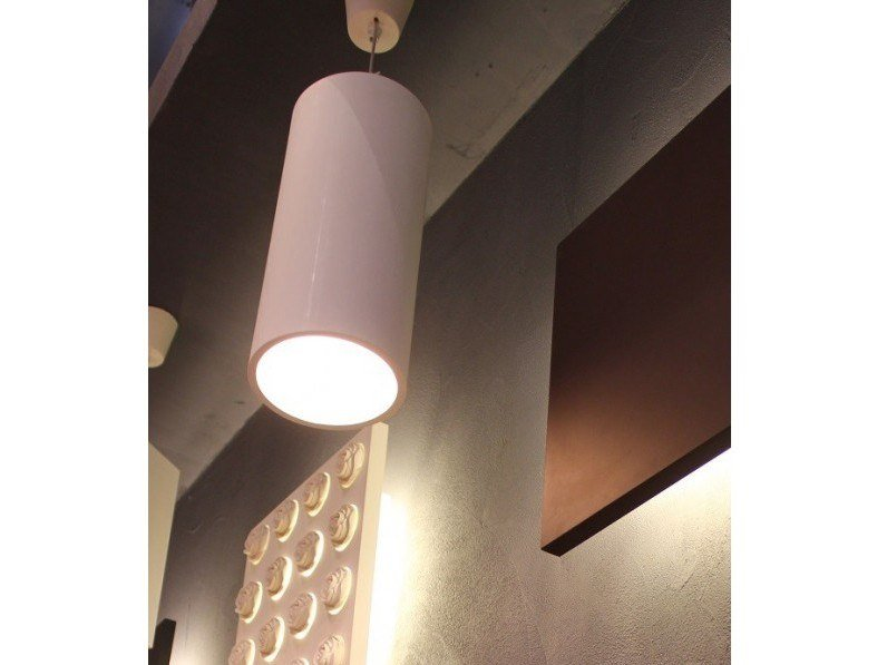 Plaster pendant lamp MIA by GESSO