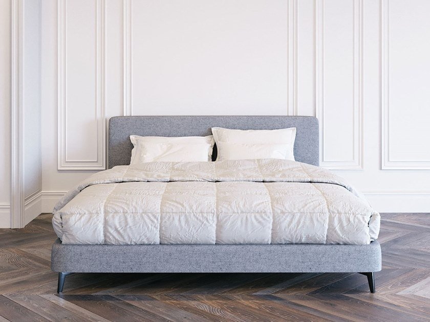 Upholstered fabric bed double bed MIA by ITALIANELEMENTS