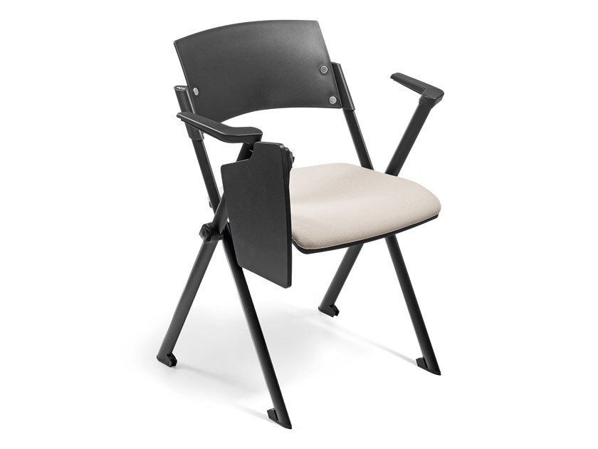 Stackable training chair with writing tablet MIAMI by AP Factor
