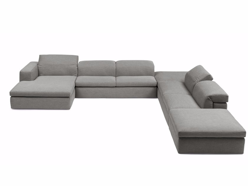 Sectional fabric sofa MIAMI by Bodema