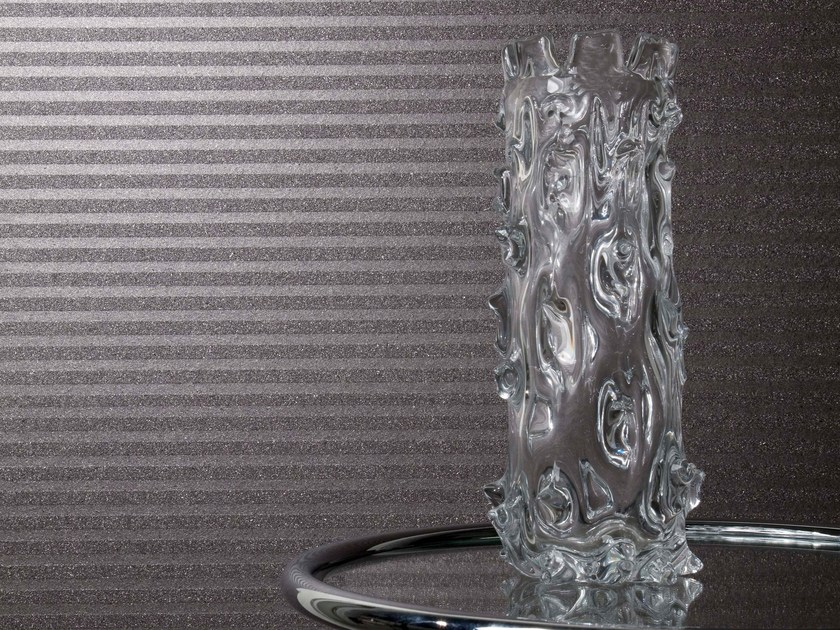 Non-woven paper wallpaper MICA EMBOSSED by Omexco