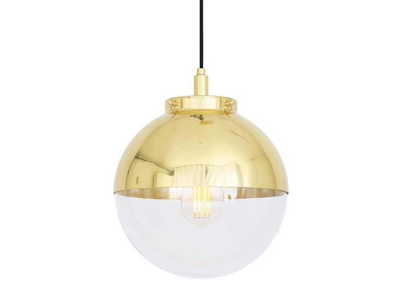 Brass pendant lamp MICA | Pendant lamp by Mullan Lighting
