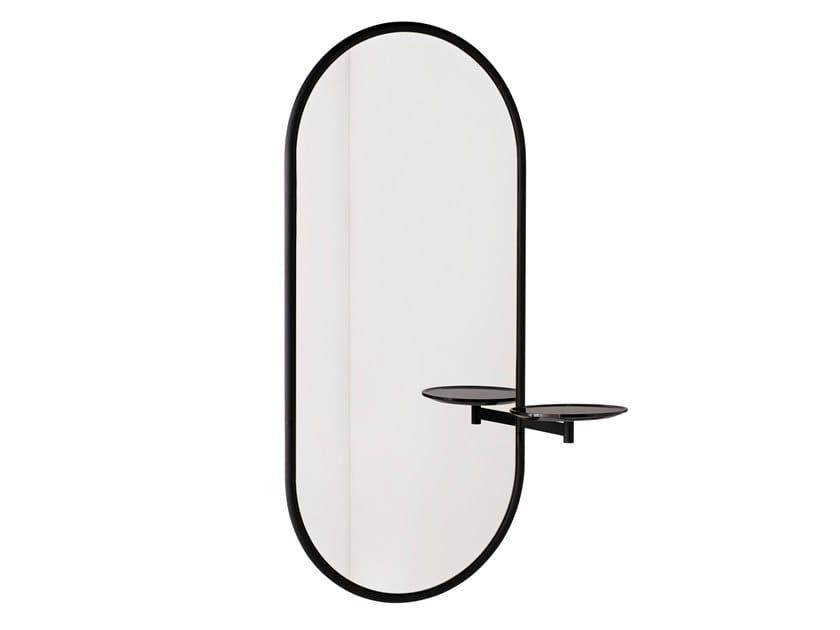 Espelho oval moldurado de parede MICHELLE | Espelho de parede by SP01