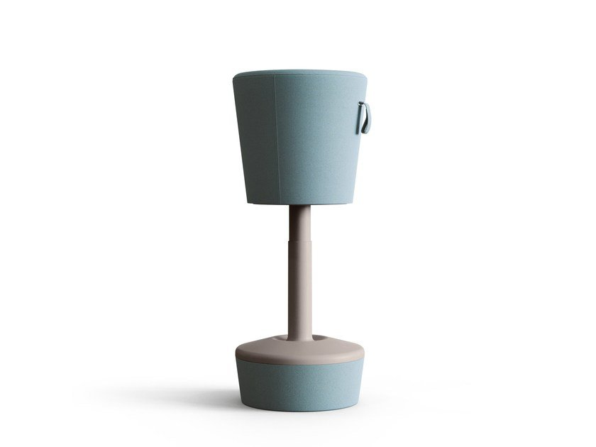 Rocking height-adjustable stool MICKEY by profim