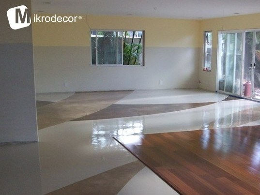 Floor tiles MICRO-TOPPING | Mikrodecor by Stone International