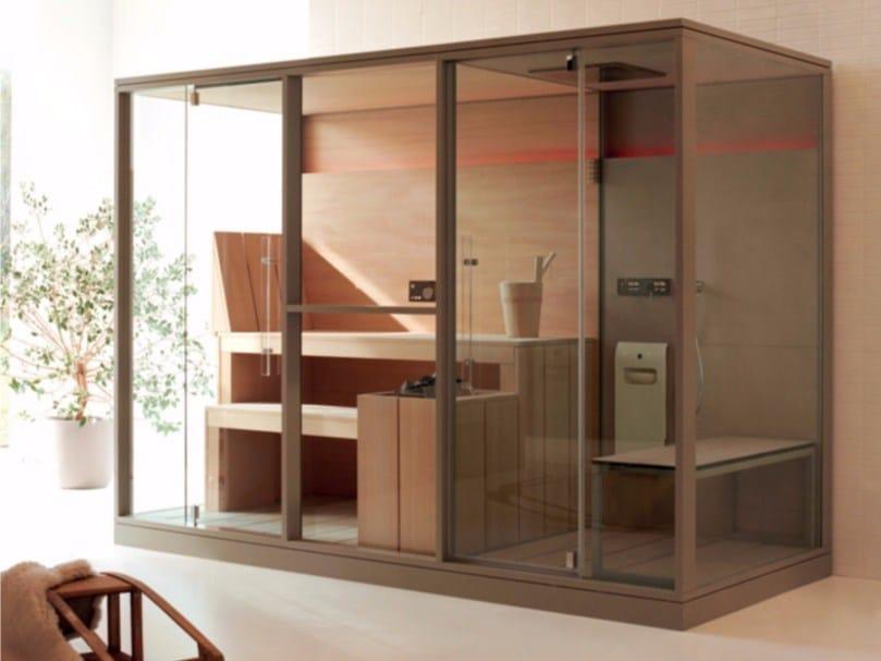 Sauna / turkish bath MID by EFFEGIBI