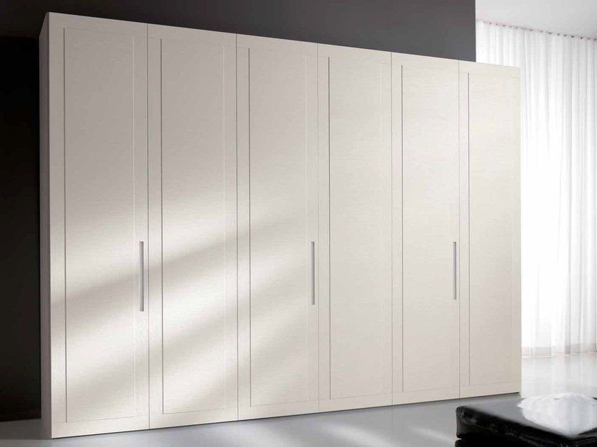 Contemporary style lacquered wood-product wardrobe MIDA by Composit