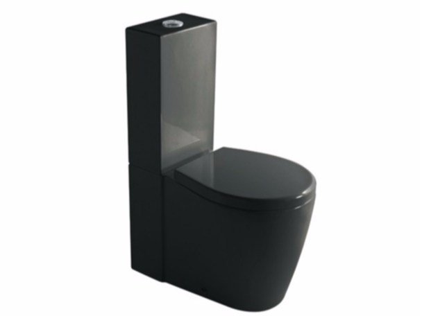 Close coupled ceramic toilet MIDAS 9910 | Close coupled toilet by GALASSIA