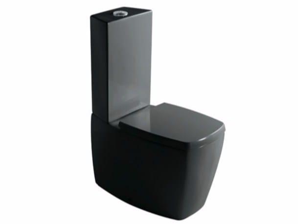Close coupled ceramic toilet MIDAS 8962   Close coupled toilet by GALASSIA