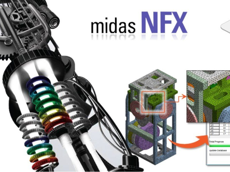 Software integrato per l'ingegneria civile MIDAS NFX by MIDAS