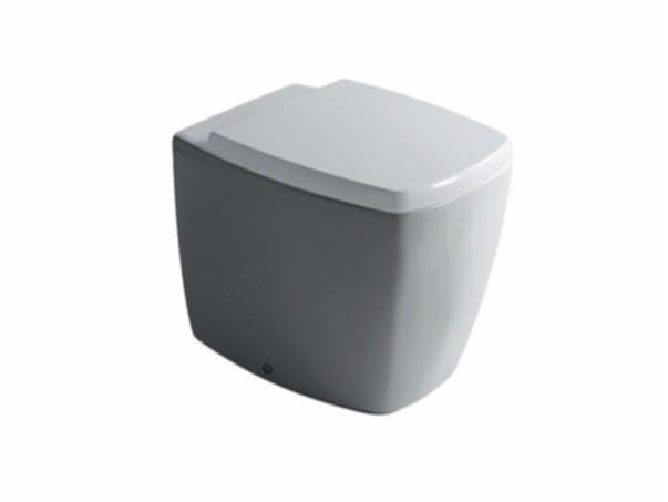Ceramic toilet MIDAS 8961   Toilet by GALASSIA