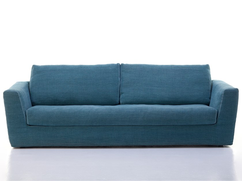 3 seater fabric sofa with removable cover MIK 10-12 by Gervasoni