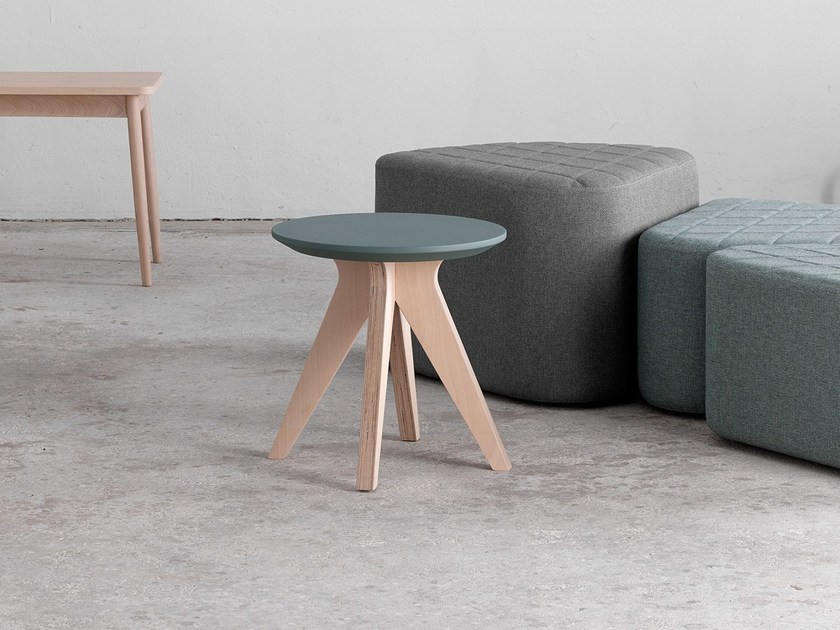 Round coffee table MIKADO H40-45 | Coffee table by ONDARRETA