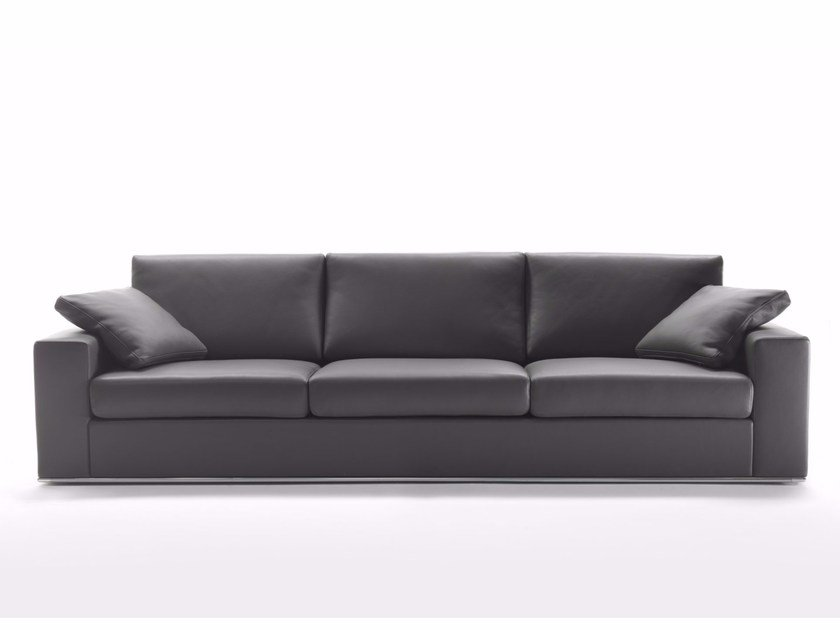 4 seater leather sofa MILANO | 4 seater sofa by Marelli