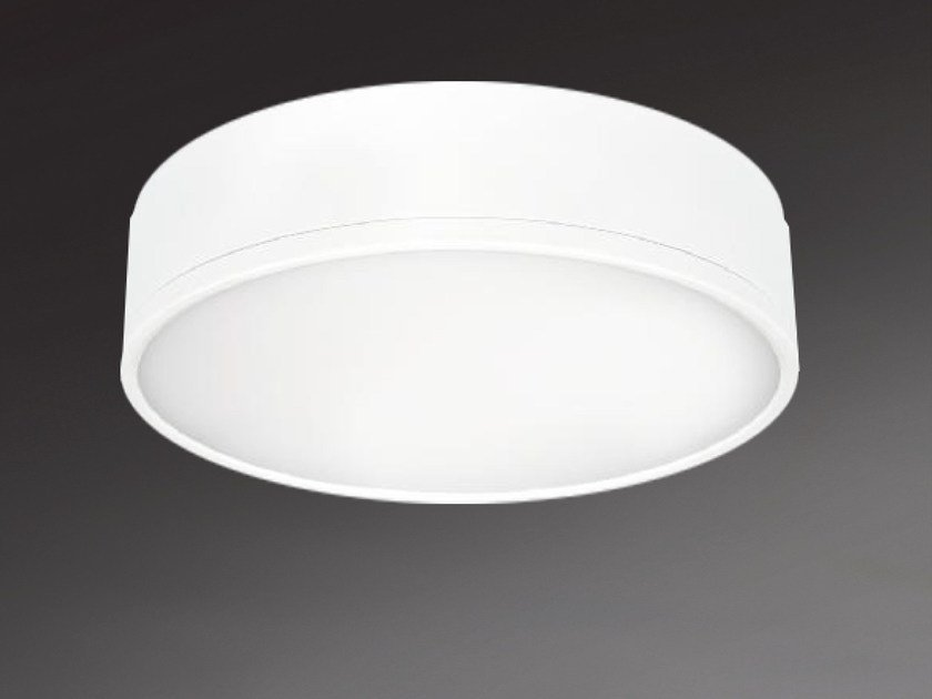 LED direct light ceiling light MILANO ROUND 8872 by Metalmek
