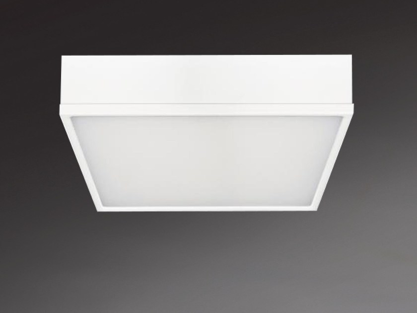 LED direct light ceiling light MILANO SQUARE 8873 by Metalmek