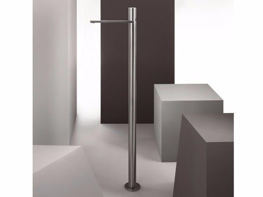Floor standing single handle stainless steel washbasin mixer MILANO - 3336A/3036B by Fantini Rubinetti