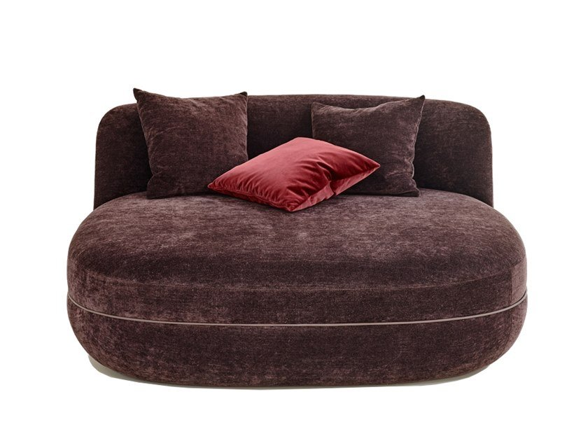 Fabric pouf bed MILES | Pouf bed by Wittmann