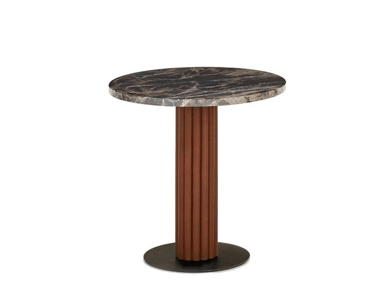 Round marble table MILES | Marble table by Wittmann