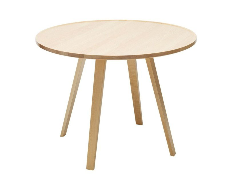 Mill Round Table By Karl Andersson, Wood Table Round