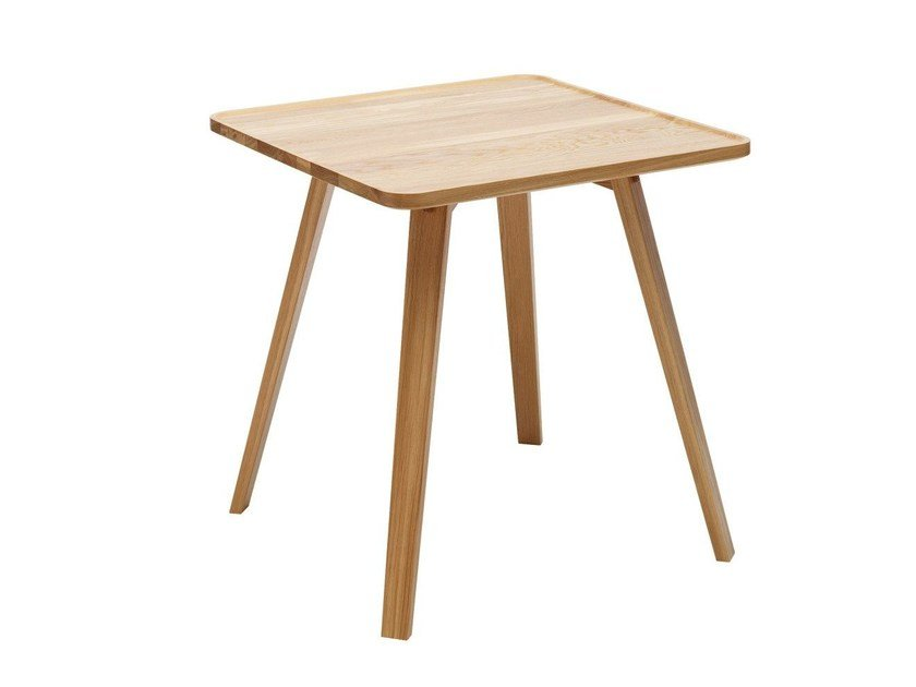 Tavolo quadrato in legno massello MILL | Tavolo in legno - Karl ...