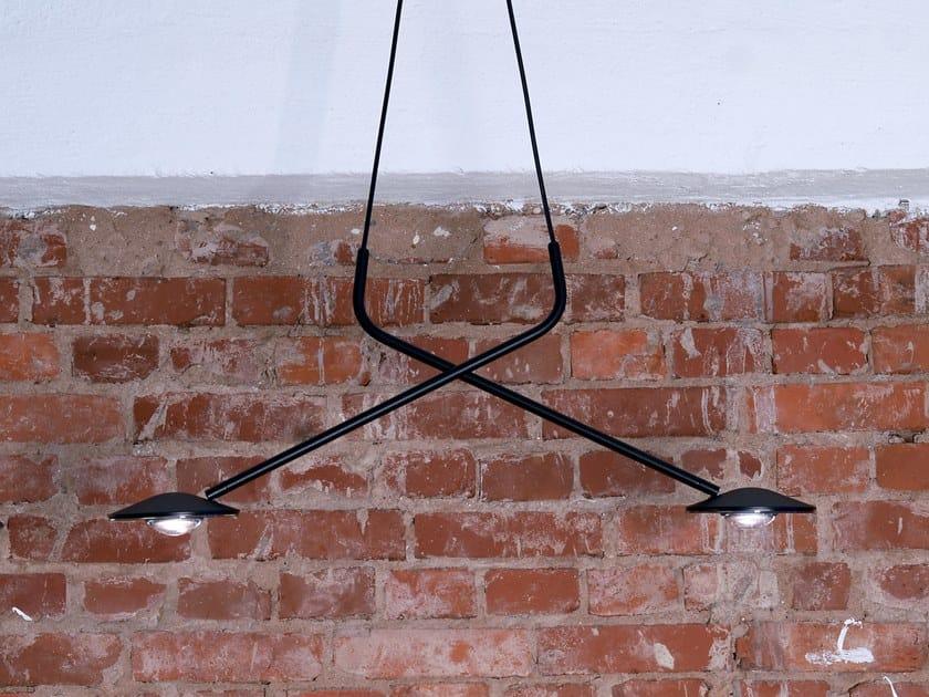 LED swivel pendant lamp MILLELUMEN RISING | Swivel pendant lamp by millelumen