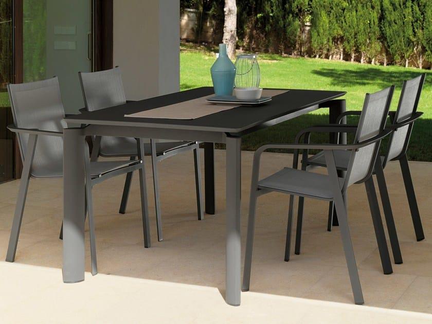 Extending aluminium garden table MILO | Aluminium table by Talenti