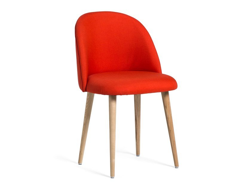 Upholstered fabric chair MILO by meeloa