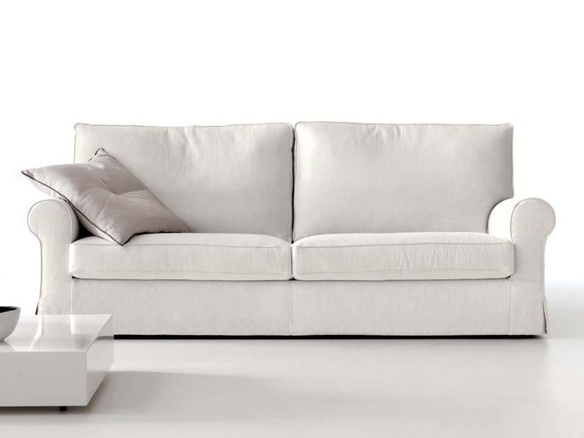 Fabric Sofa With Removable Cover Milord By Dema