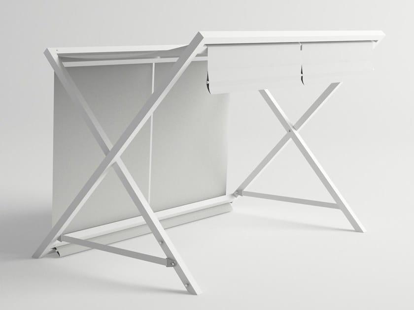 Freestanding fabric awning MILOS | Awning by 10Deka