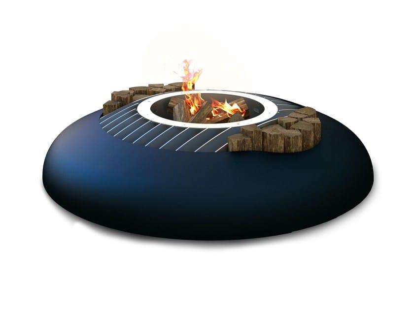 Steel fire baskets MIME by GlammFire