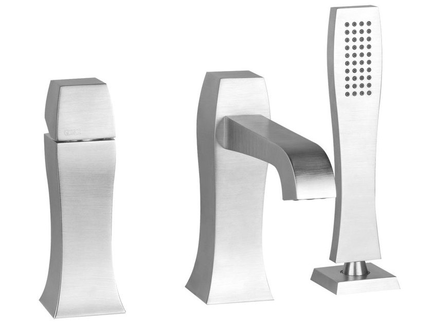 3 hole bathtub mixer with hand shower MIMI 31137 by Gessi