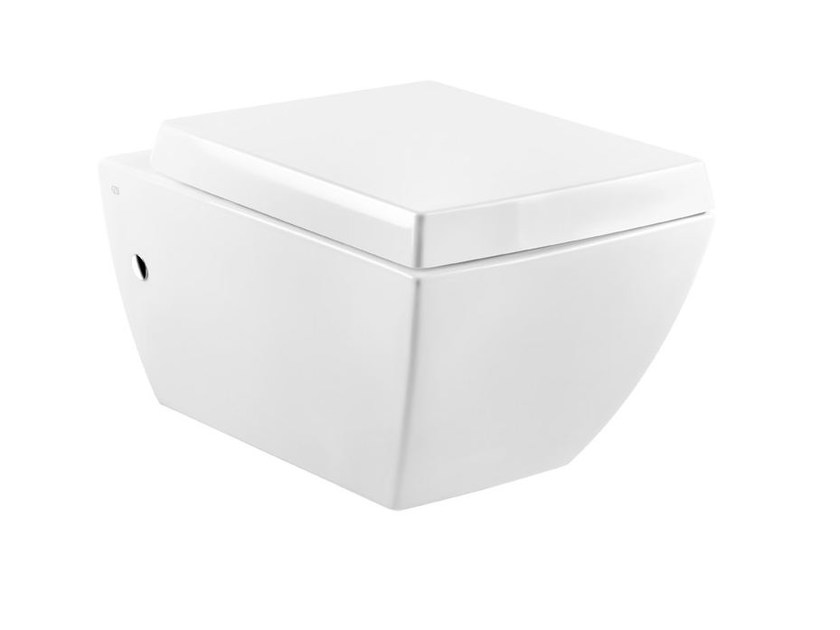 Wall-hung ceramic toilet MIMI SANITARY 37513 by Gessi