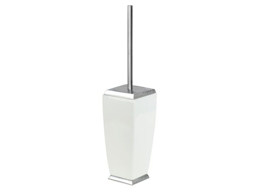 Ceramic toilet brush MIMI ACCESSORIES 33244 by Gessi