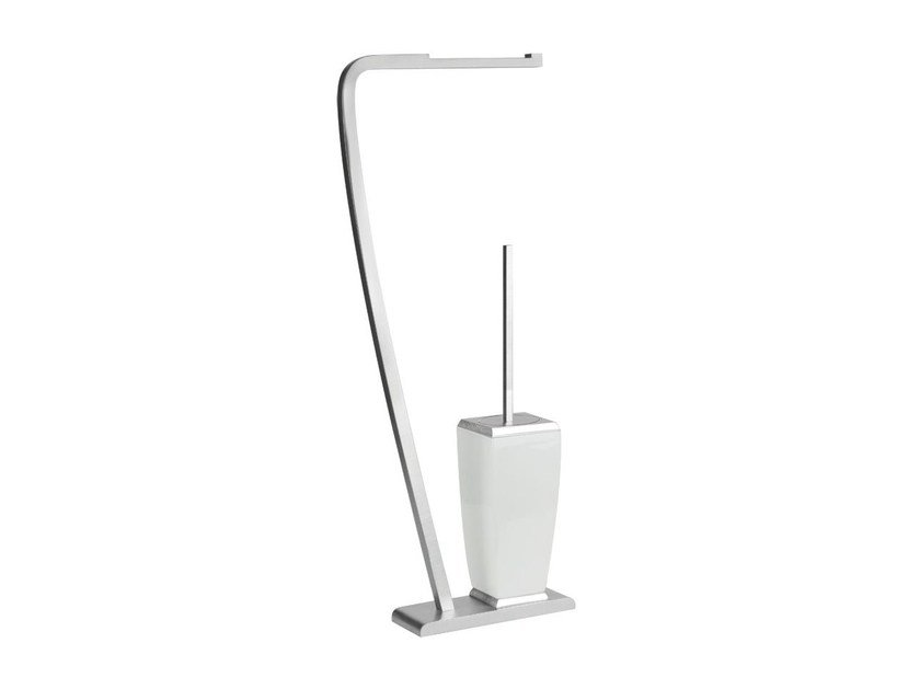 Toilet roll holder / toilet brush MIMI ACCESSORIES 33334 by Gessi