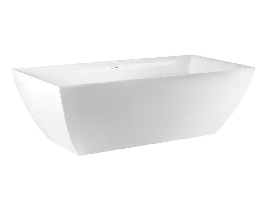 Freestanding Ceramilux® bathtub MIMI BATH 37525 by Gessi