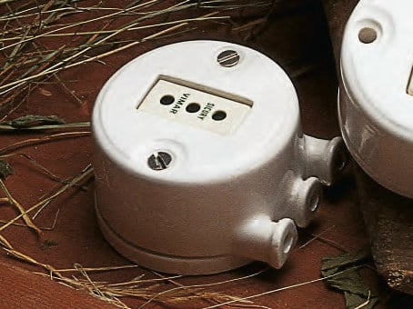 Ceramic electrical box MIMOSA | Electrical box by Aldo Bernardi