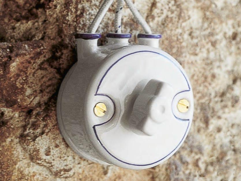 Ceramic electrical socket MIMOSA | Electrical socket by Aldo Bernardi