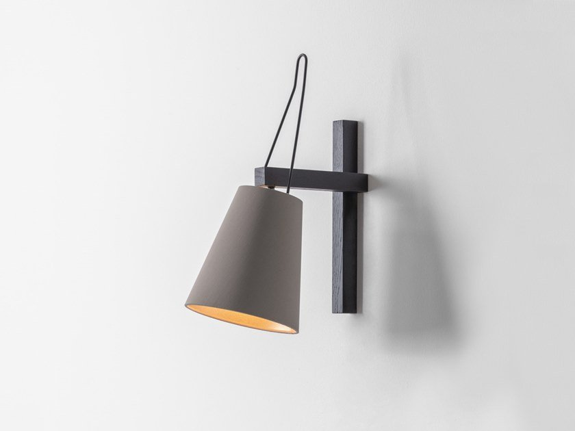 Wooden wall lamp MINA | Wall lamp by filumen