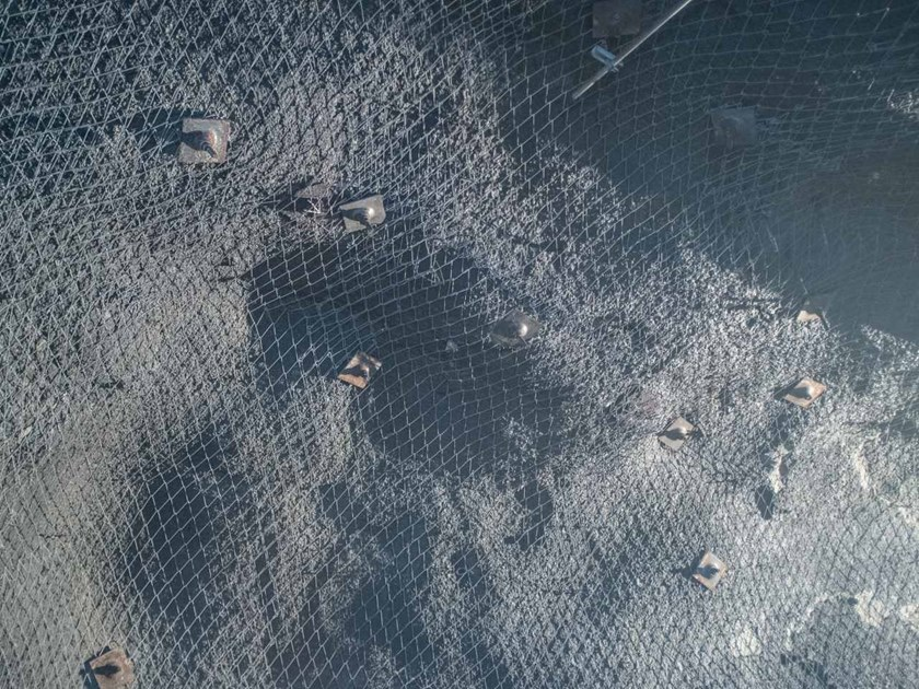Steel Metal fabric and mesh MINAX® 80/4 by GEOBRUGG