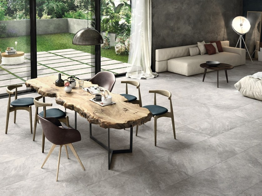 Indoor/outdoor porcelain stoneware wall/floor tiles MINERAL by Ariana Ceramica