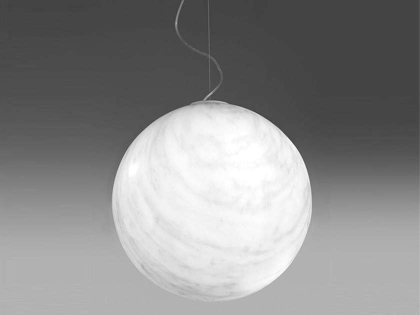 Polyethylene pendant lamp MINERAL by SLIDE