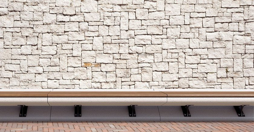 Backless Bench MINERVA by Bellitalia