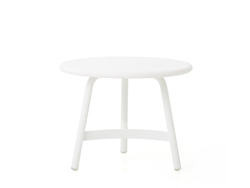 Round aluminium side table MING ALUMINUM | Side table by STELLAR WORKS